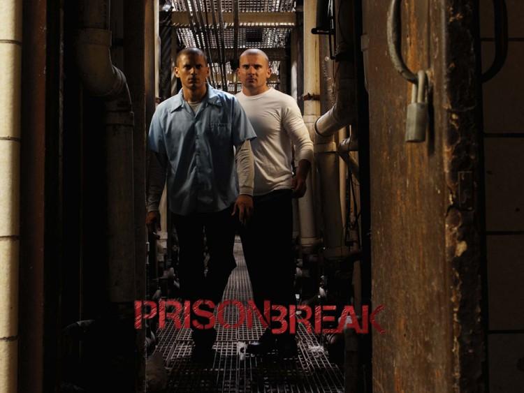 Fonds d'écran Séries TV Prison Break PB Michael and Linc