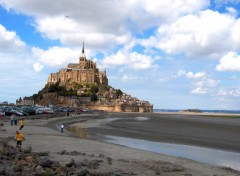 Fonds d'écran Voyages : Europe Le Mont Saint Michel
