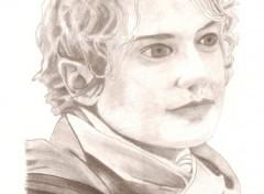 Wallpapers Art - Pencil portrait