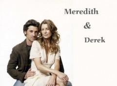 Wallpapers TV Soaps Meredith and Derek