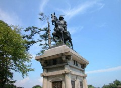 Wallpapers Trips : Asia samurai de bronze