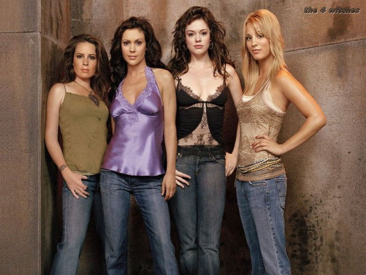 Fonds d'écran Séries TV Charmed Charmed cast s8