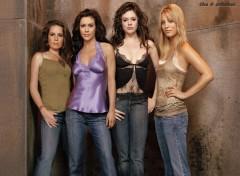 Fonds d'écran Séries TV Charmed cast s8