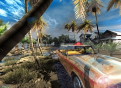 Fonds d'écran Art - Numérique Taxi Tropic