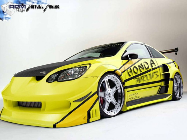 Fonds d'écran Voitures Honda Wallpaper N°151647