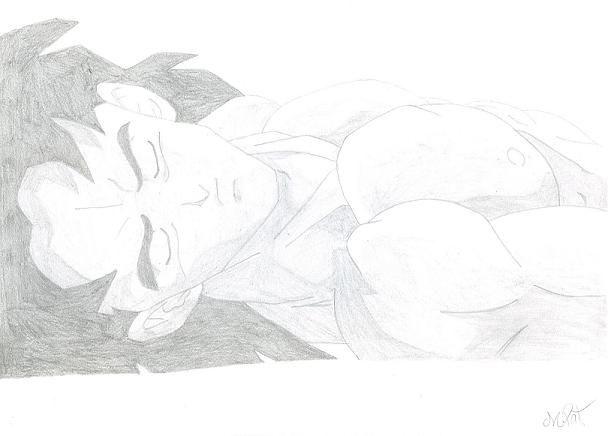 Fonds d'écran Art - Crayon Manga - Dragon Ball Z BrolyArt03