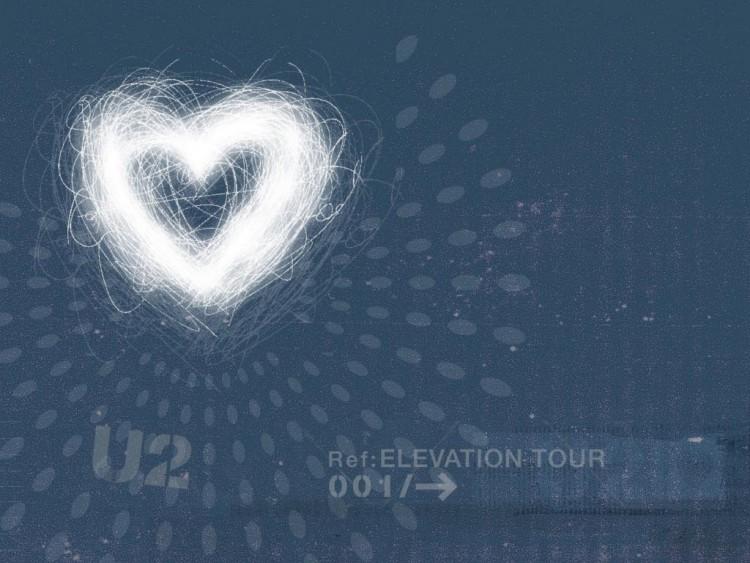 Fonds d'écran Musique U2 Heart of U2...