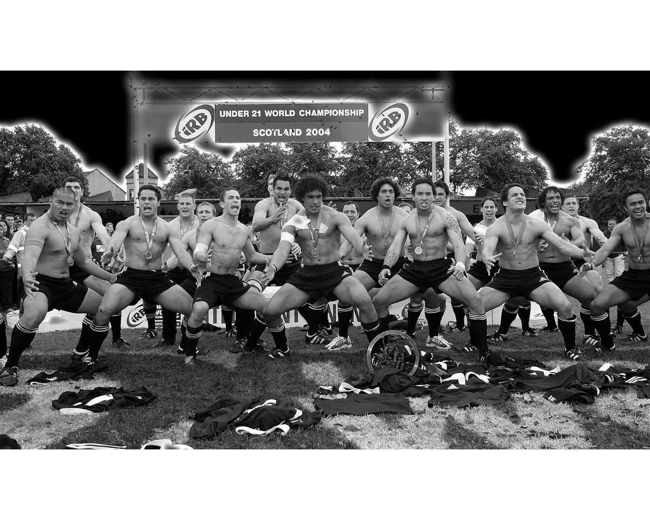 Wallpapers Sports - Leisures Rugby The Haka by the All Blacks