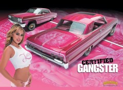 Wallpapers Cars Gangsta pinky