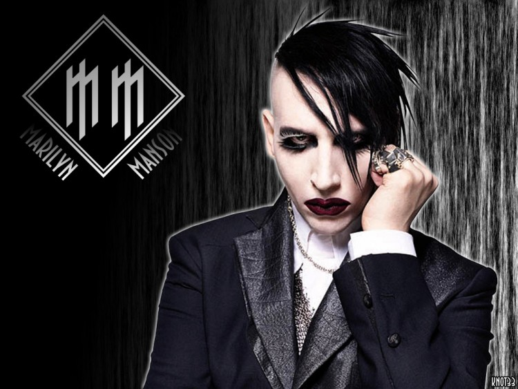 Wallpapers Music Wallpapers Marilyn Manson Wallpaper N