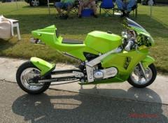 Fonds d'écran Motos pocket-bike