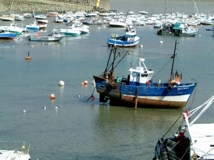 Fonds d'écran Bateaux Bateaux de pêche marée basse
