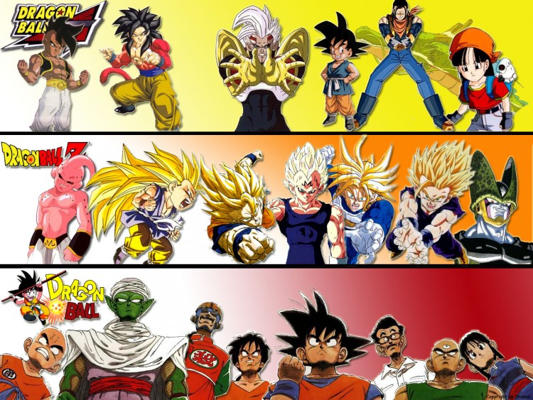 Wallpapers Manga Dragon Ball Z DB, DBZ, DBGT