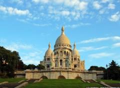 Fonds d'écran Voyages : Europe Le Sacré Coeur sur la Butte Montmartre
