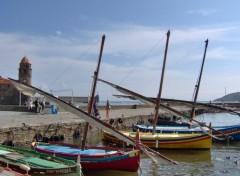 Fonds d'écran Bateaux Collioure
