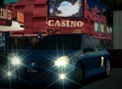 Fonds d'écran Jeux Vidéo gran turismo 4/clio v6