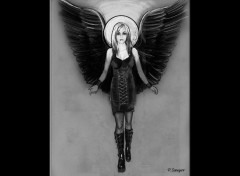 Fonds d'écran Séries TV Peyton is an angel