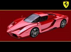 Wallpapers Cars Ferrari Enzo fondo nero