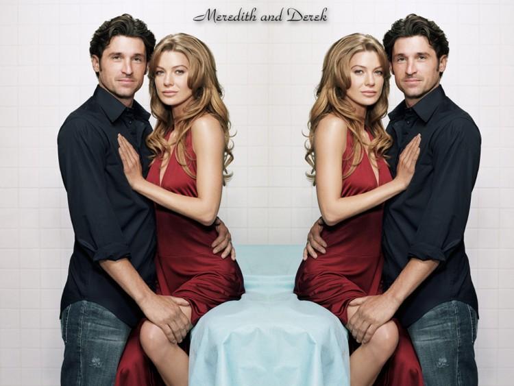Fonds d'écran Séries TV Grey's Anatomy Derek Meredith