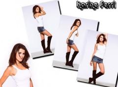 Wallpapers Celebrities Women Karine Ferri