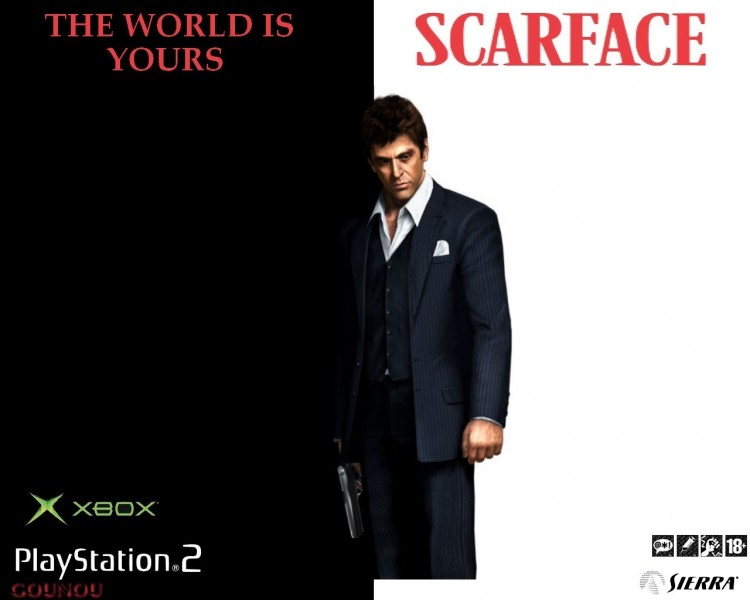 Fonds d'écran Jeux Vidéo Scarface The world is yours