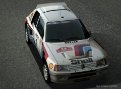 Wallpapers Video Games Peugeot 205 Turbo 16
