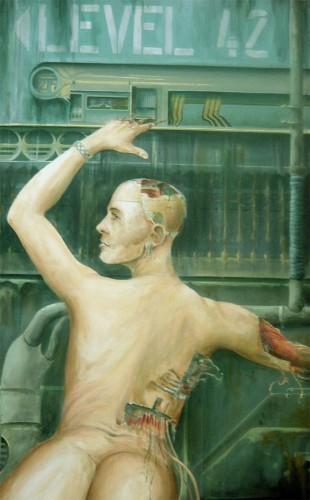 Fonds d'écran Art - Peinture Science-fiction programe consciance