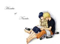 Fonds d'écran Manga Hinata et Naruto