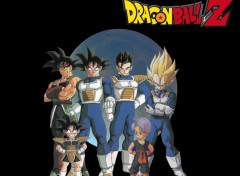 Fonds d'écran Manga Dbz Les derniers sayain