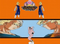 Wallpapers Manga Dbz Saga babidi