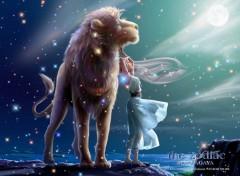 Wallpapers Digital Art astro-lion
