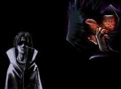 Wallpapers Manga sasuke vs itachi