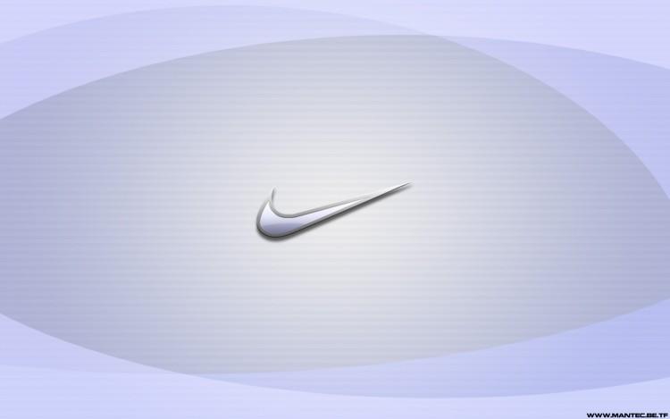 Fonds d'écran Grandes marques et publicité Nike Nike Logo Aqua