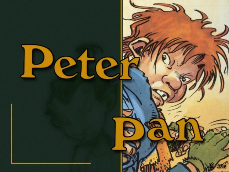 Fonds d'écran Art - Peinture BD Peter Pan