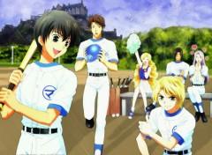 Fonds d'écran Manga Play tennis
