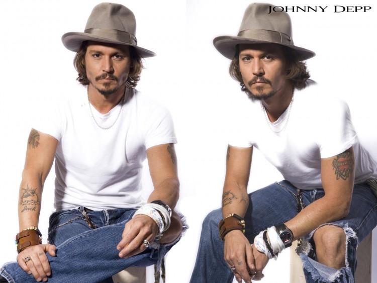 Fonds d'écran Célébrités Homme Johnny Depp Wallpaper N°157557