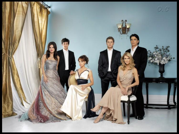 Fonds d'écran Séries TV Newport Beach the OC cast s4