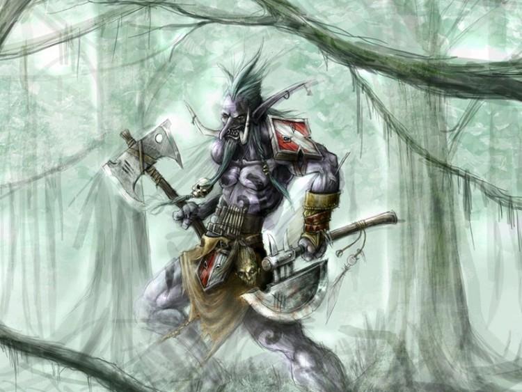 Fonds d'écran Jeux Vidéo World of Warcraft troll