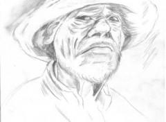 Fonds d'écran Art - Crayon vieux
