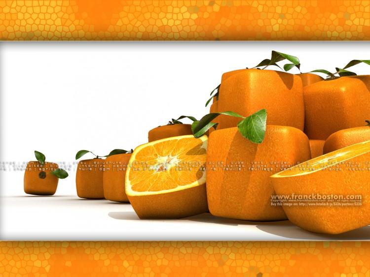 Fonds d'écran Humour Clins D'oeil OrangeCube