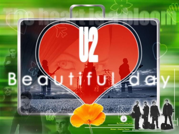 Fonds d'écran Musique U2 Beautiful day