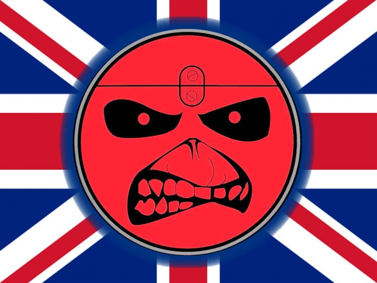 Wallpapers Music Iron Maiden maiden flag