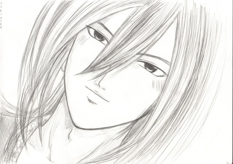 Wallpapers Art - Pencil Manga - Kyo Yukimura