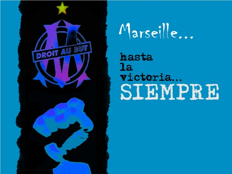 Fonds d'écran Sports - Loisirs OM siempre Marseille