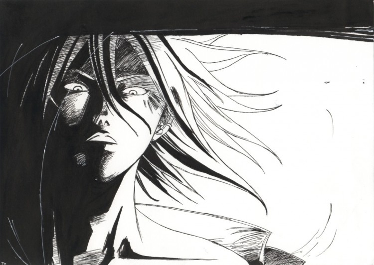 Wallpapers Art - Pencil Manga - Kyo Luciole