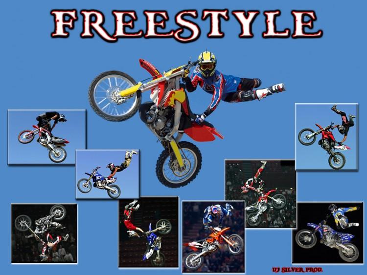Wallpapers Motorbikes Motocross freestyle