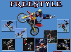 Fonds d'écran Motos freestyle