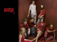 Fonds d'écran Séries TV Dexter cast