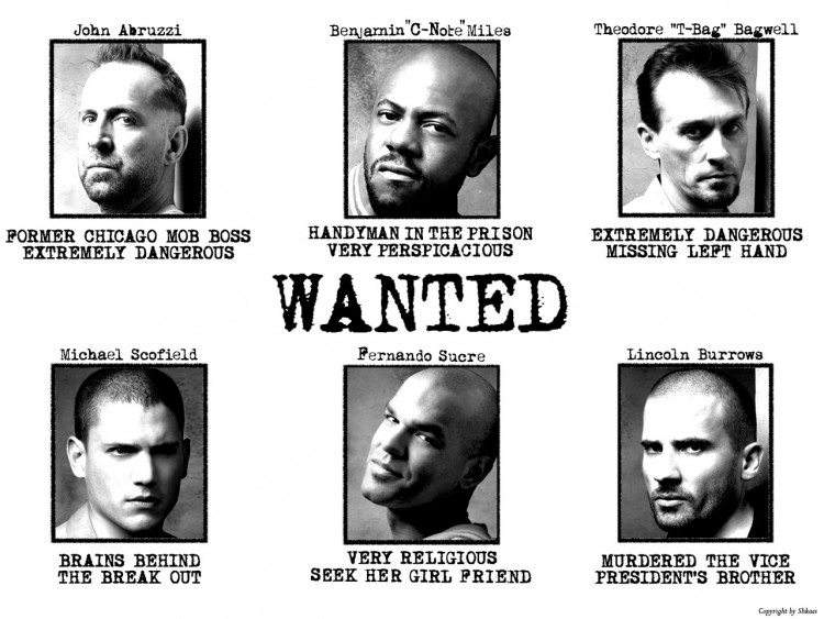 Wallpapers TV Soaps Prison Break Prison Break