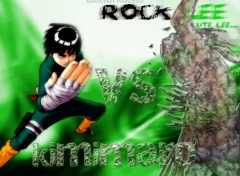Fonds d'écran Manga kimimaro vs rock lee